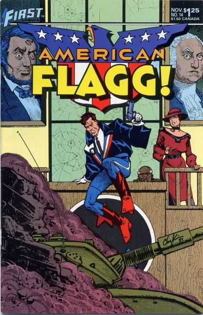 American Flagg 14 - Government - Political - Patriotism - Country - Nationalism