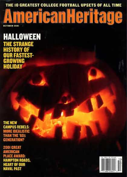 American Heritage - October 2001