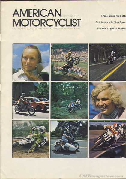 American Motorcyclist - September 1977