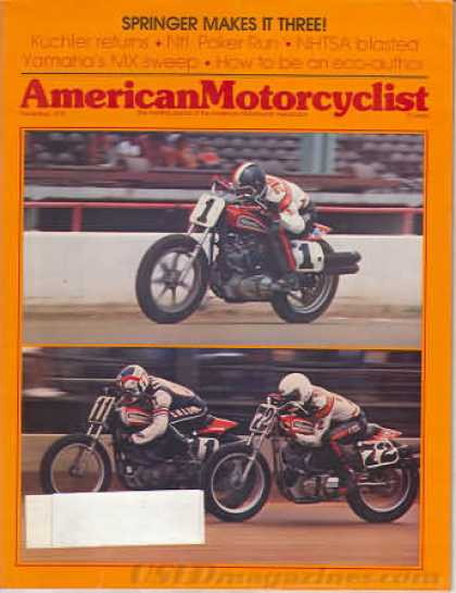 American Motorcyclist - November 1978