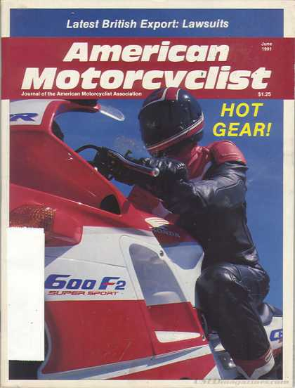 American Motorcyclist - June 1991