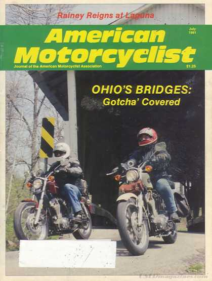 American Motorcyclist - July 1991