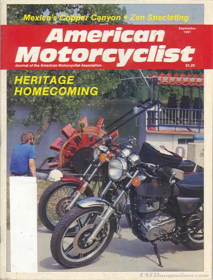 American Motorcyclist - September 1991