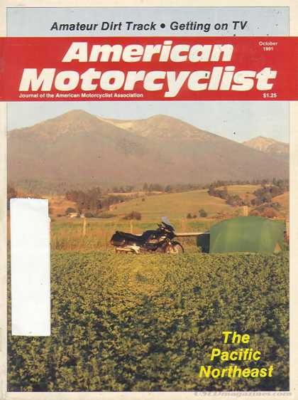 American Motorcyclist - October 1991