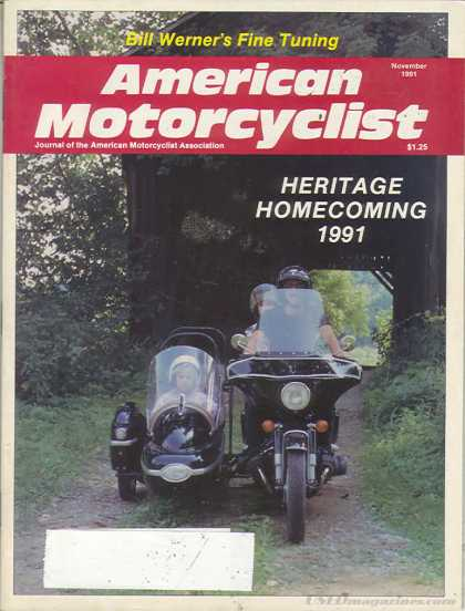 American Motorcyclist - November 1991
