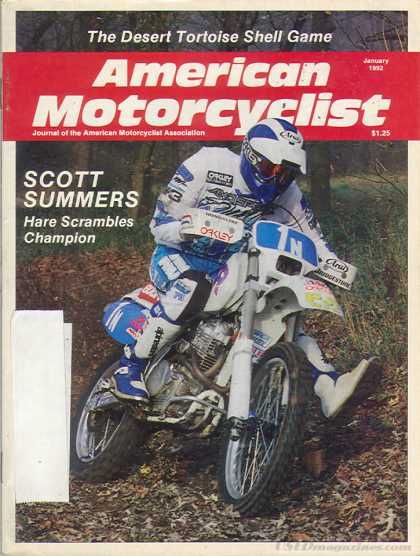 American Motorcyclist - January 1992