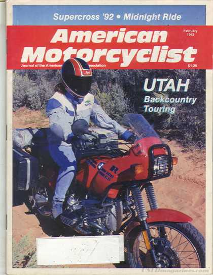 American Motorcyclist - February 1992