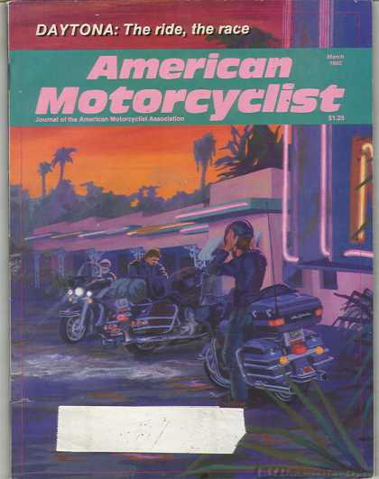 American Motorcyclist - March 1992