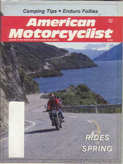 American Motorcyclist - April 1992