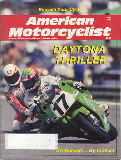 American Motorcyclist - May 1992