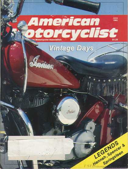 American Motorcyclist - June 1992