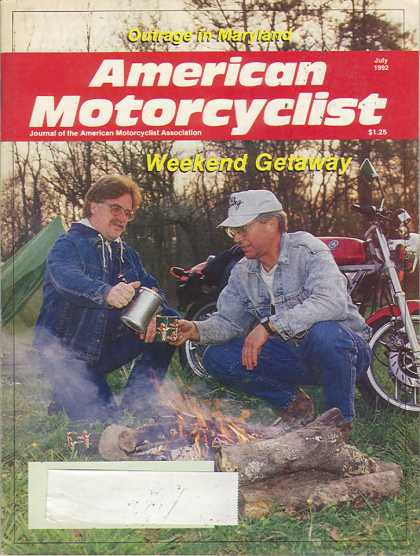 American Motorcyclist - July 1992