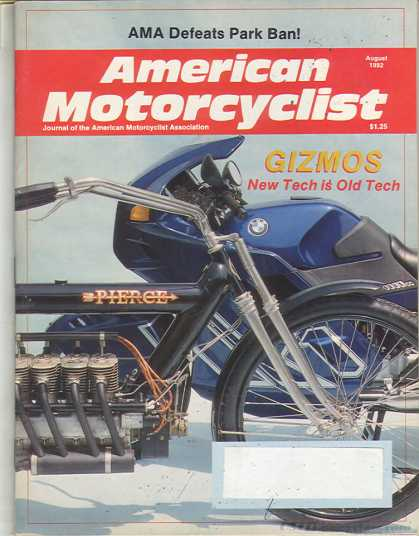 American Motorcyclist - August 1992