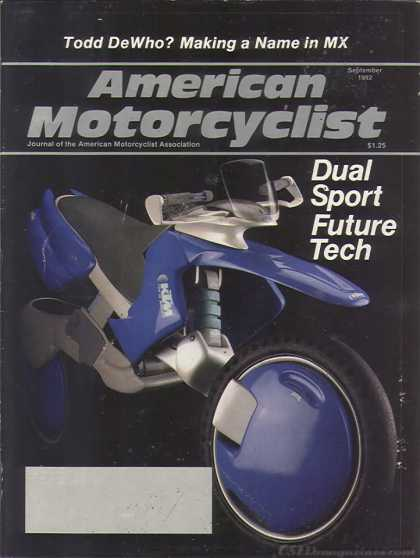 American Motorcyclist - September 1992