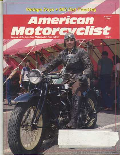 American Motorcyclist - October 1992