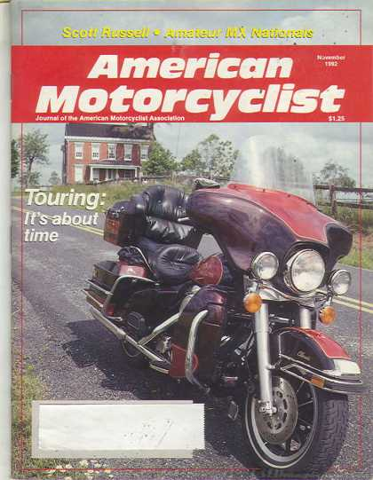 American Motorcyclist - November 1992