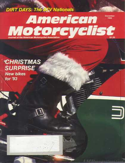 American Motorcyclist - December 1992