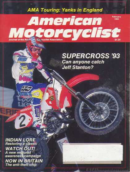 American Motorcyclist - February 1993