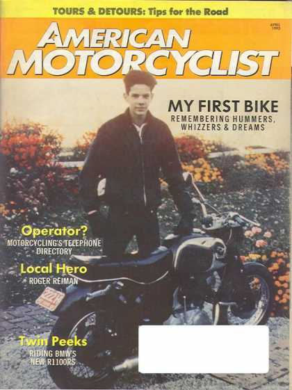 American Motorcyclist - April 1993