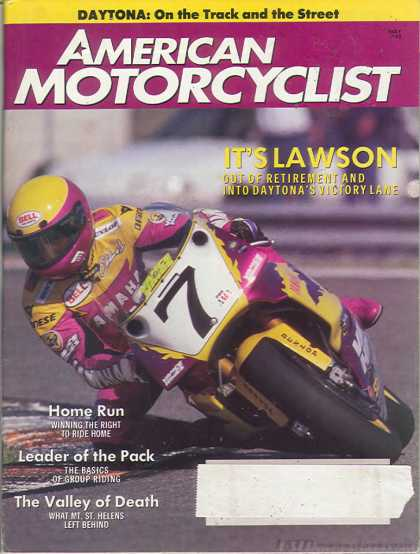 American Motorcyclist - May 1993