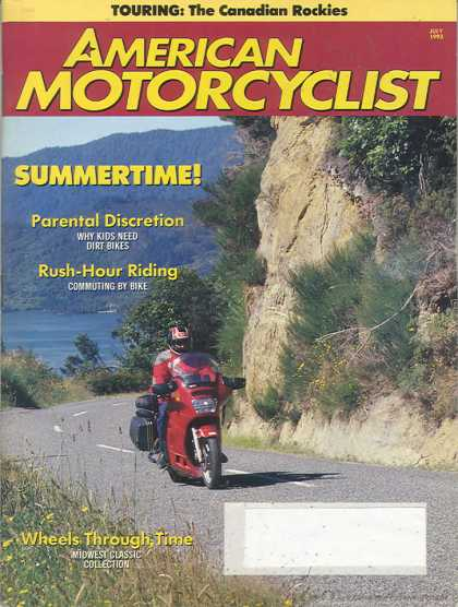 American Motorcyclist - July 1993