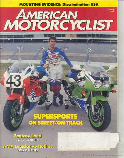American Motorcyclist - August 1993