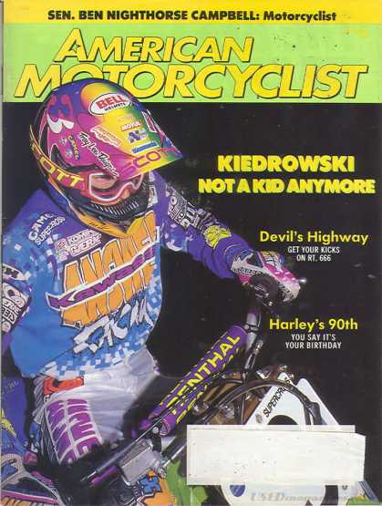 American Motorcyclist - September 1993