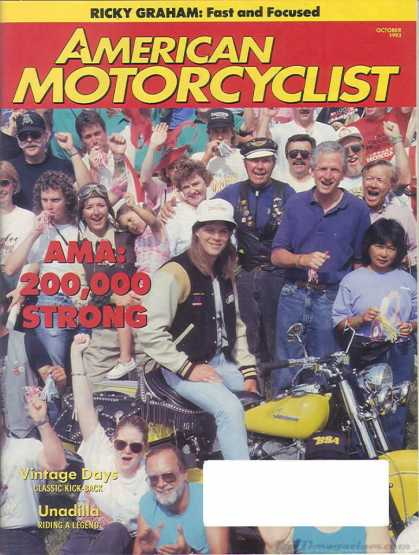 American Motorcyclist - October 1993