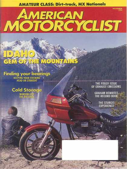 American Motorcyclist - November 1993
