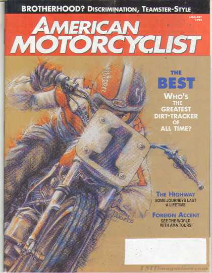 American Motorcyclist - January 1994