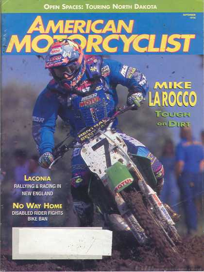 American Motorcyclist - September 1994