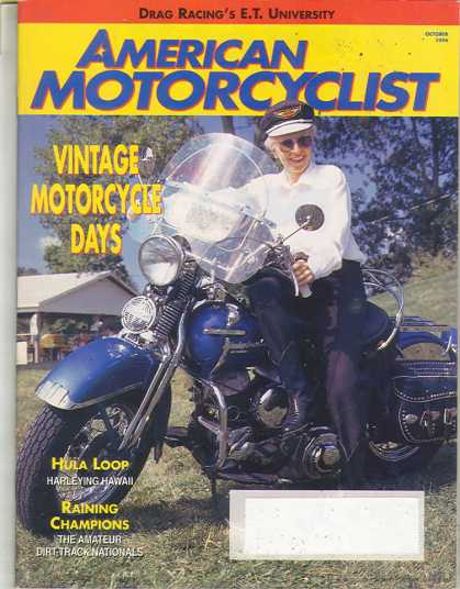 American Motorcyclist - October 1994