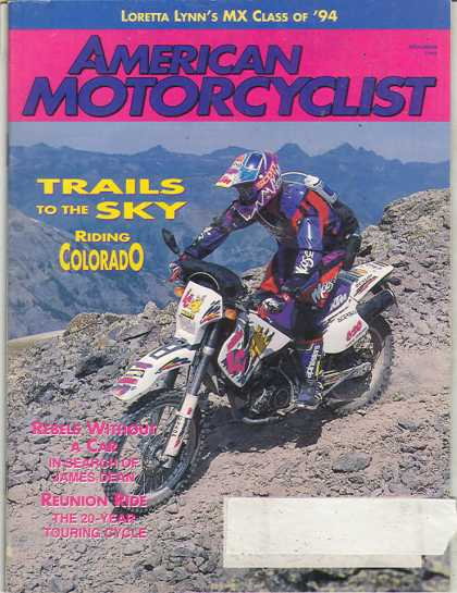 American Motorcyclist - November 1994