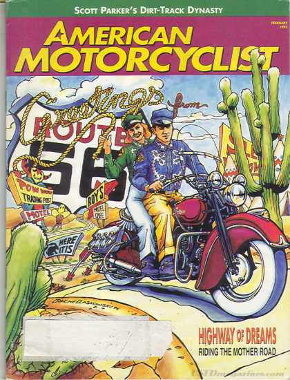 American Motorcyclist - February 1995