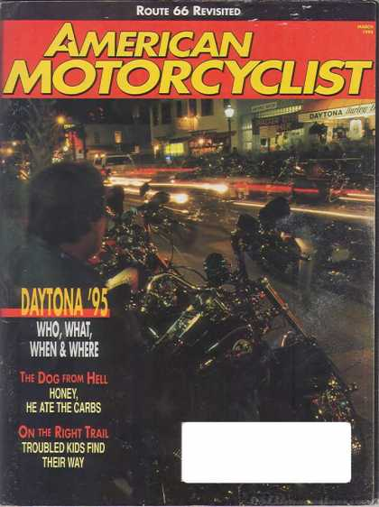American Motorcyclist - March 1995
