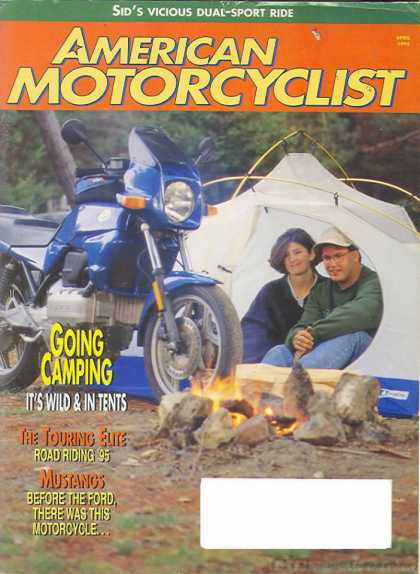 American Motorcyclist - April 1995