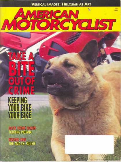 American Motorcyclist - July 1995