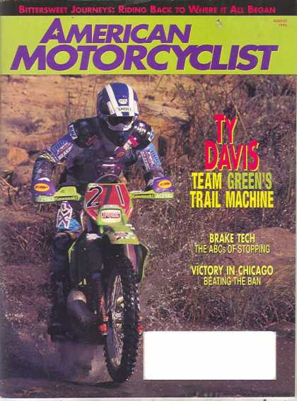 American Motorcyclist - August 1995