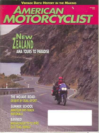 American Motorcyclist - October 1995