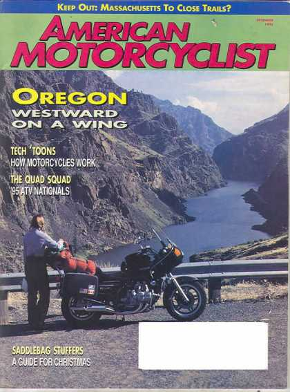 American Motorcyclist - December 1995