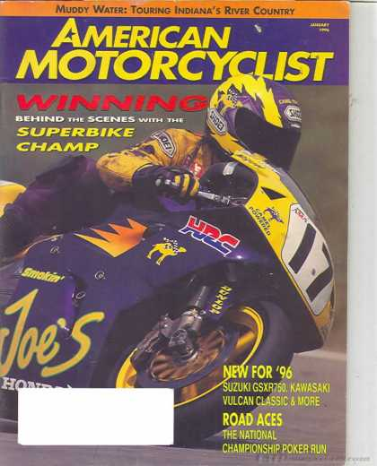 American Motorcyclist - January 1996