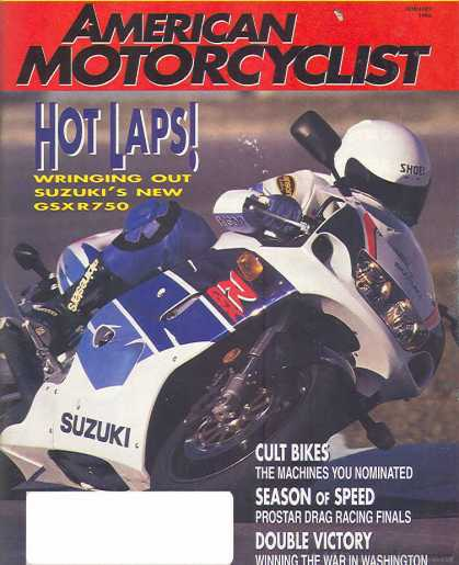 American Motorcyclist - February 1996