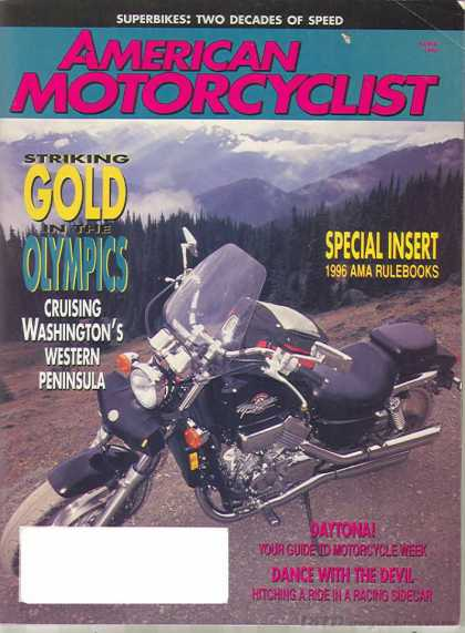 American Motorcyclist - March 1996