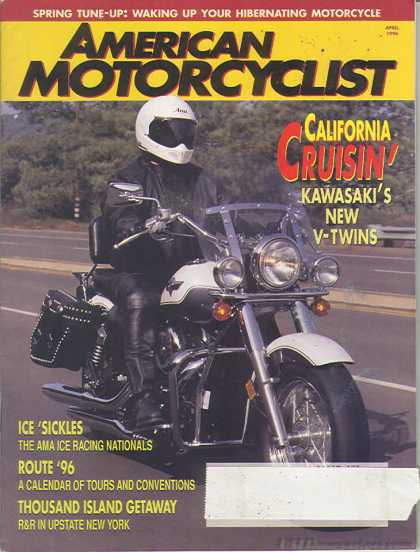 American Motorcyclist - April 1996