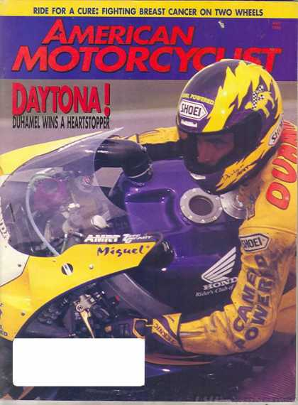 American Motorcyclist - May 1996
