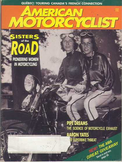 American Motorcyclist - June 1996