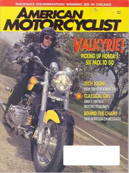 American Motorcyclist - July 1996