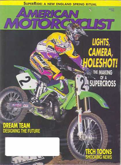 American Motorcyclist - August 1996