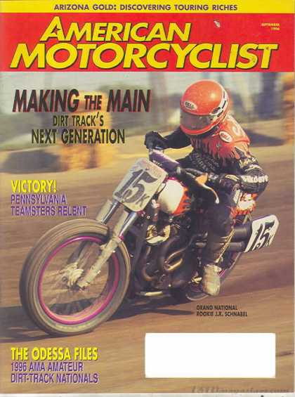 American Motorcyclist - September 1996