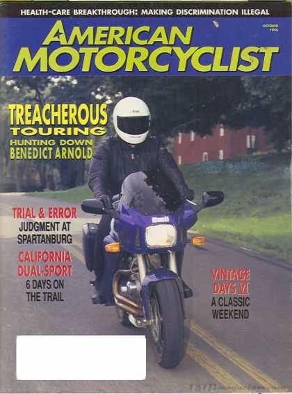 American Motorcyclist - October 1996